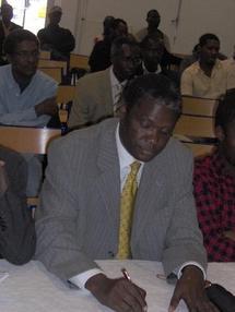 L' anniversaire de la disparition du professeur Kane Saidou le 16 octobre en Hollande