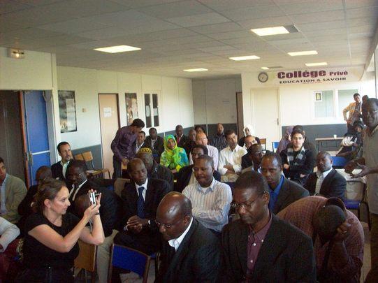 Reportage photos de la rencontre avec les parlementaires le 14 septembre 2008