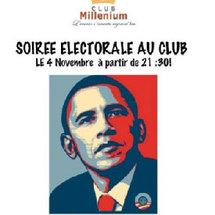Des africains de la diaspora rivalisent d'ardeur pour la victoire du candidat démocrate Barack Obama.