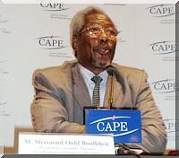 Lettre du Président de l'Assemblée nationale Mr Messaoud Ould Boulkheir aux Parlementaires