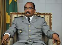 Le chef des putschistes visite les quartiers précaires dans la moughataa de Arafat (ce titre n'est pas de l'AMI)