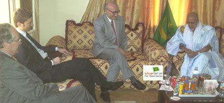 Des émissaires français chez le président mauritanien renversé