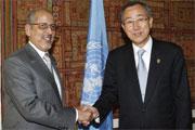 Ban Ki-moon salue la libération du président déposé de Mauritanie