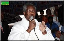 Allocution du Président Messaoud Ould Boulkheir au meeting de la CFD au siège de l'UNAD le jeudi 22 Janvier 2009.