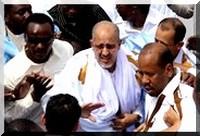 Arrivée de Sidi Ould Cheikh Abdellahi à Nouakchott