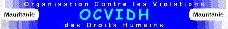 Condamnation de l'OCVIDH face à l'agression contre le Président de SOS-Esclaves