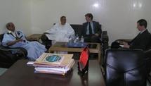 Ahmed Ould Daddah rencontre le chargé d'affaires américain