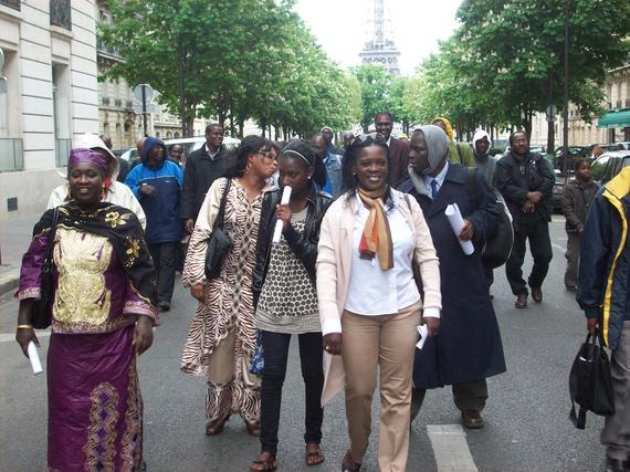 AVOMM à la commémoration des déportations le 25 avril à Paris (photos)