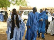 Guidimakha: le candidat Ibrahima SARR préside un meeting à Arr