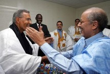 Une délégation du RFD chez Ould Cheikh Abdallahi