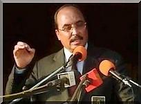 Ould Abdel Aziz s'attaque avec virulence aux candidats Ould Daddah et Messaoud Ould Bulkheir