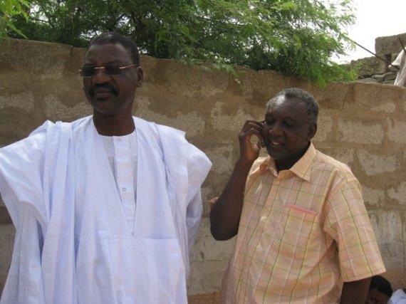 Mamadou Bocar BA et Modi Cissé