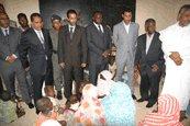 Une délégation ministérielle s'enquiert de la situation des quartiers sinistrés