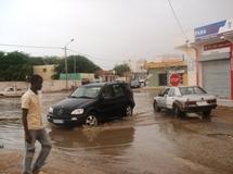 Une nouvelle pluie à Nouakchott faisant plusieurs mares