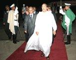 Le président de la république regagne la capitale en provenance de Tripoli
