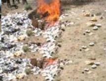 Nouadhibou : Destruction de deux tonnes de drogues
