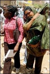 """Pas de fouet mais une amende pour une Soudanaise au pantalon """"indécent"""""""