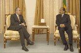 Le président de la république reçoit l'ambassadeur de France accrédité dans notre pays