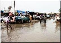 Inondations en Mauritanie : La montée des eaux du fleuve fait des dégâts à Boghé