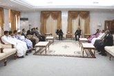 Le Président de la République reçoit le bureau du syndicat des journalistes mauritaniens