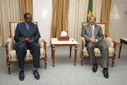Mauritanie / Sénégal:Le Président de la république reçoit un envoyé spécial du Président sénégalais
