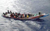 Arrestation de 18 immigrés clandestins au large de Nouadhibou