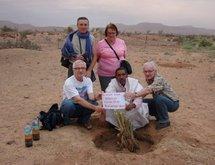 Le container d'Arémau est arrivé en Mauritanie