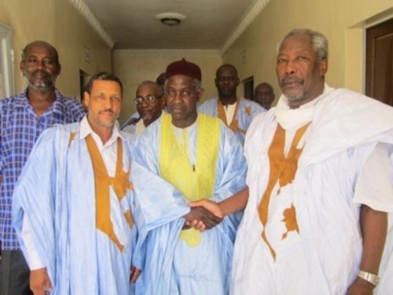 Ibrahima Moctar SARR reçoit Messaoud Ould Boulkheir