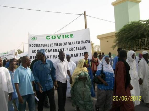 Covire: Doléances de la marche du 20/06/2012