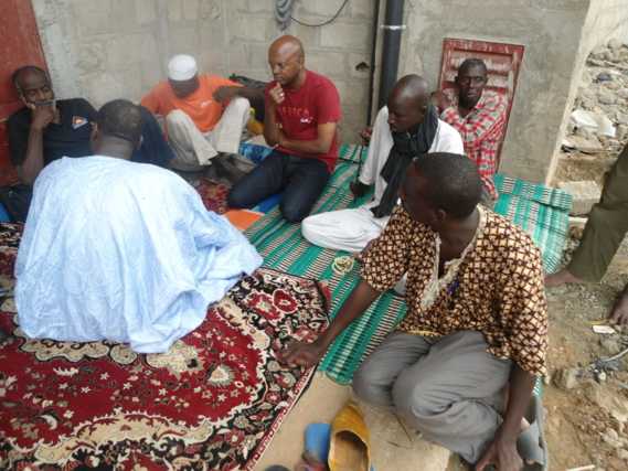 Grève de la faim des déportés mauritaniens au Sénégal, l'AJD/MR au chevet des victimes par Abda Wone