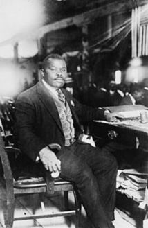 Marcus Garvey : « Regardez vers l'Afrique ! »