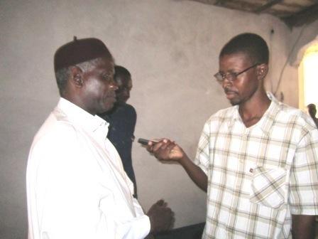 Ibrahima Moctar SARR au domicile de Biram Ould Dah