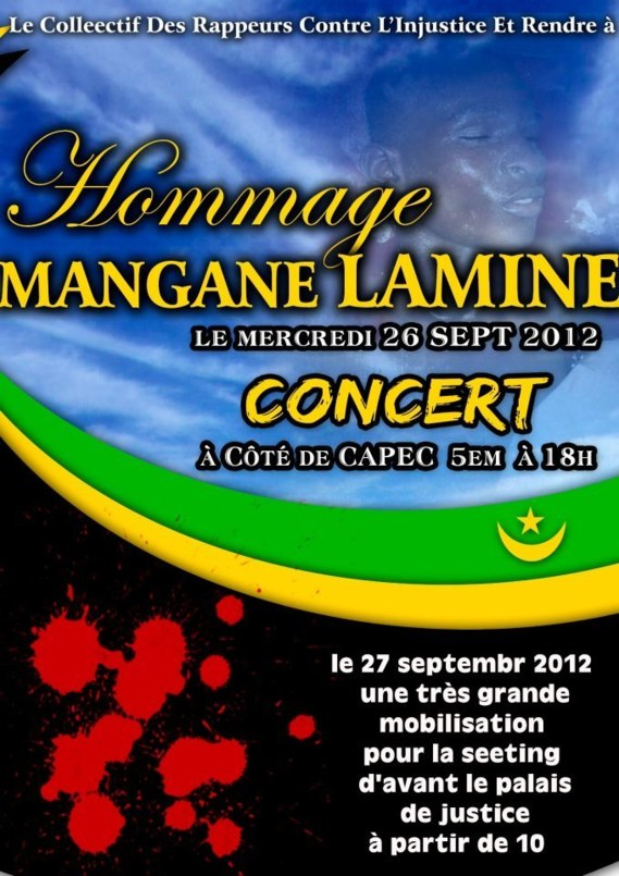 Hommage au martyr Lamine Mangane - TPMN invite à l'unité