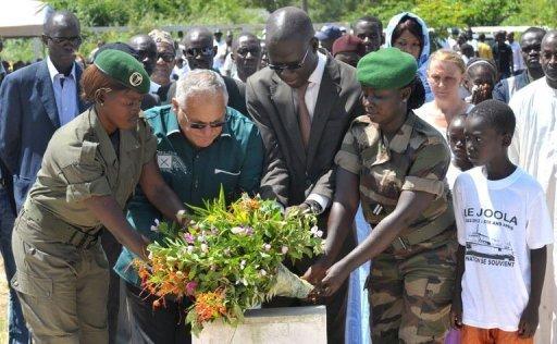 Sénégal: le naufrage du Joola commémoré dans la sobriété et le recueillement