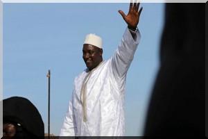 Gambie: arrivée du président Barrow à Banjul en provenance du Sénégal