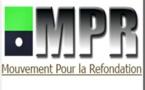 Communiqué - Le M.P.R exige le rétablissement de la légalité constitutionnelle en Gambie
