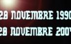 PARIS:JOURNÉE DE COMMEMORATION DES MARTYRS DU 28 NOVEMBRE 1990
