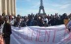 La déclaration signée par AVOMM, AFMAF, OCVIDH et FLAM lors de la manifestation du 26 avril 2008, à Paris