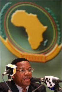 Délaration de l'Union Africaine : Suspension de la Mauritanie.