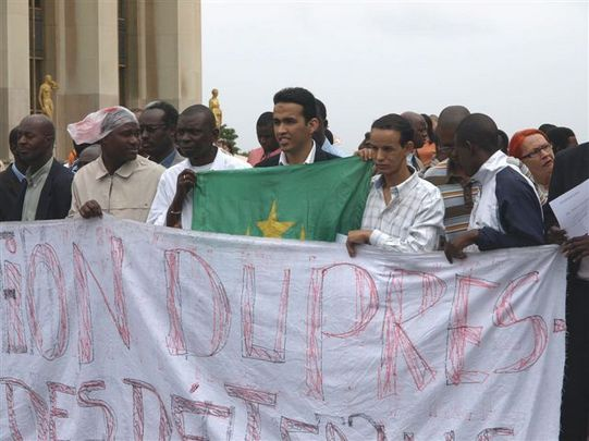 + Images de la manifestation de Paris, 10 août 2008