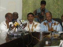 Conférence de presse du FNDD