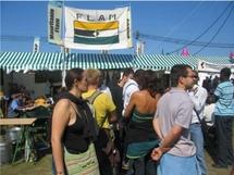 Le Stand des FLAM à la fête de l'huma : une affluence record.La Mauritanie des racistes et des putschistes dénoncée