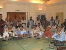Conférence de presse des parlementaires du FNDD
