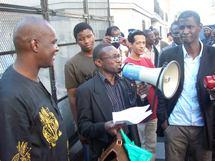 La section FLAM/Europe de l'Ouest Solidaire du sit-in organisé par le MDLIM /Annonce