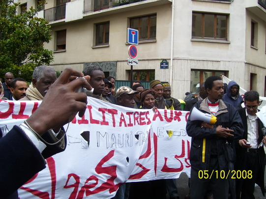 Sit-In sur Paris. Photos.