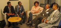 Une délégation conjointe du Front et du gouvernement légitime reçue par la commission des droits de l'Homme du Parlement Européen à Bruxelles