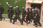 Marche du FNDD : La police anti-émeute quadrille le périmètre de la manif