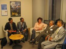Intense activité diplomatique de la délégation conjointe du FNDD et du gouvernement légitime à Bruxelles
