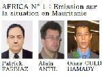 Africa no 1 - Émission sur la Mauritanie.