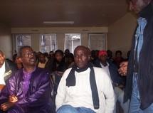 Diako (à gauche), en réunion de l'AVOMM